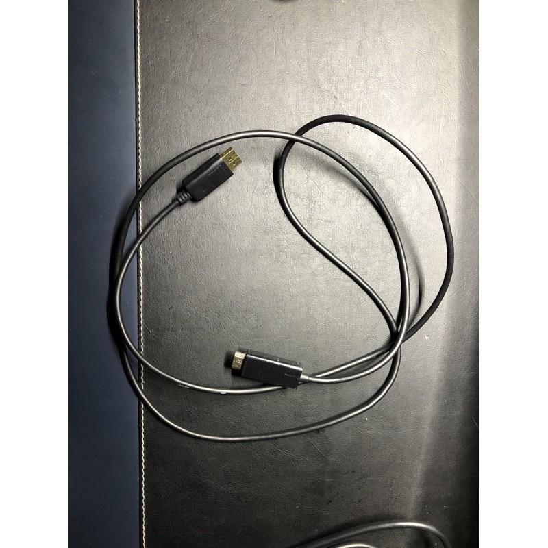 DP轉HDMI轉接線1.8M
