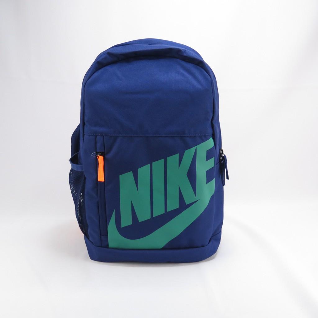 NIKE BACKPACK 後背包 有水壺袋 BA6030492 藍【iSport愛運動】