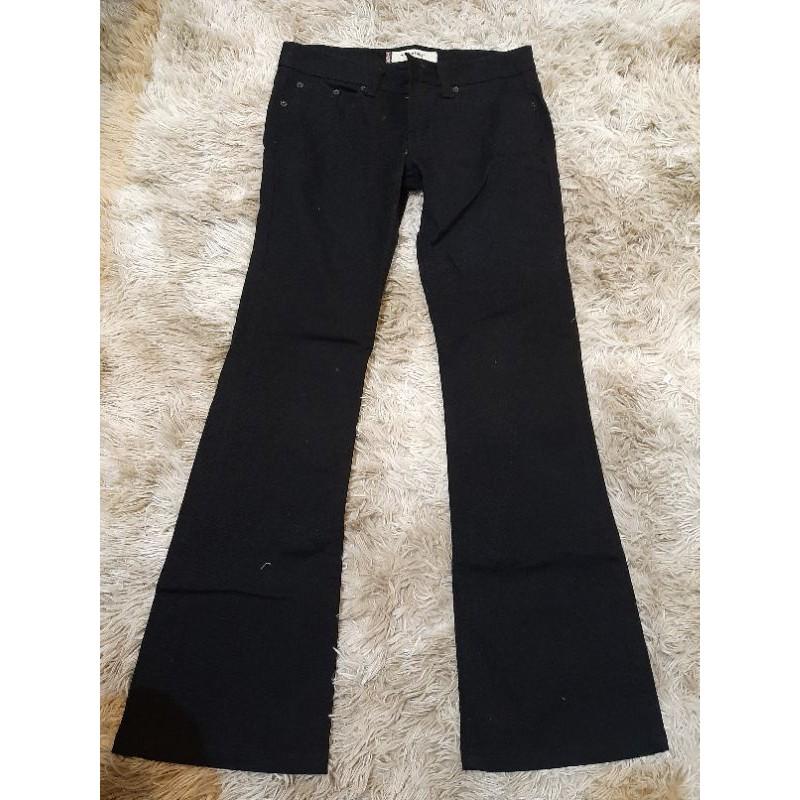 【🔹️全新🔸️】TANK 黑色修身  休閒褲/牛仔褲(#22)