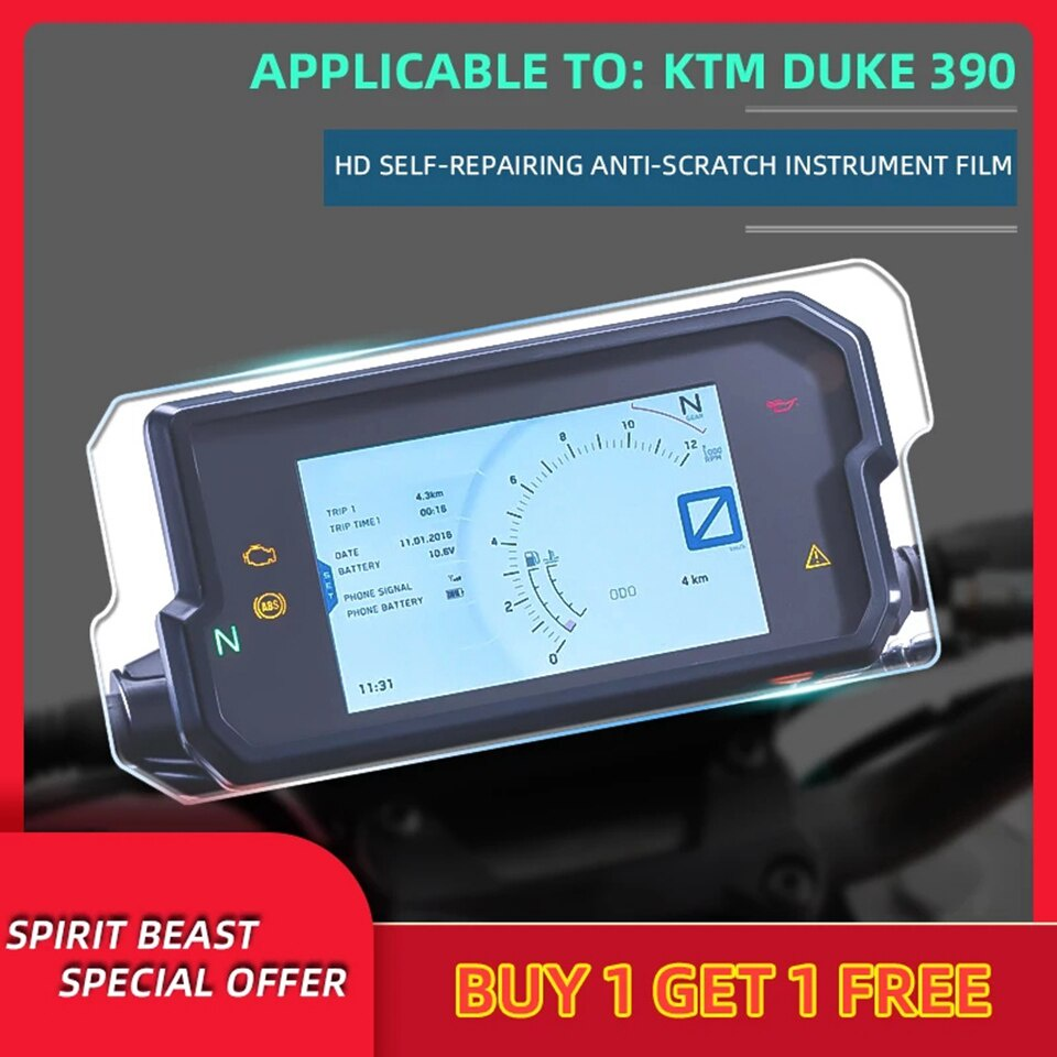 Spirit Beast Motorcycle speedometer TPU Scratch Protection F