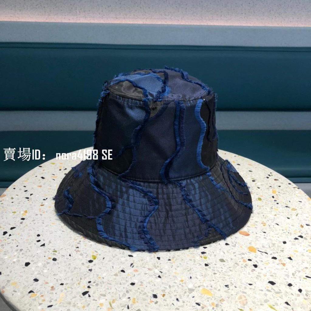 正品 二手 DIOR 迪奧漁夫帽 2021夏款老花款漁夫帽 女生漁夫帽 遮陽防曬