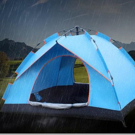 迪卡儂帳篷官方迪卡儂沙漠 帳篷戶外用品3-4人全自動野營露營防雨賬蓬2人超 Vq8P