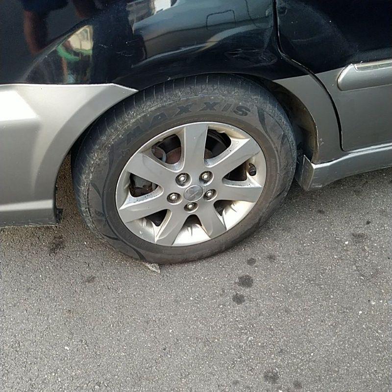 SAVRIN16吋輪胎組4個單賣鋁圈