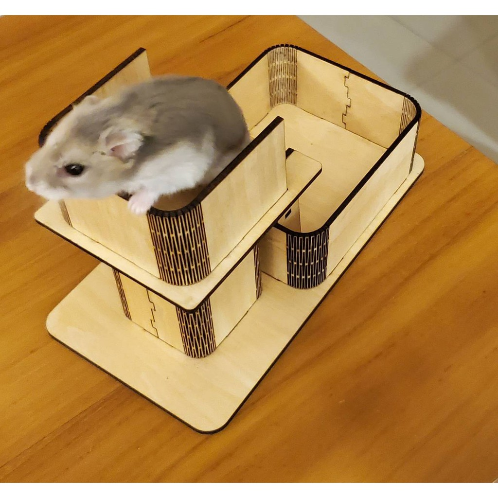 倉鼠瞭望台 倉鼠玩具 倉鼠用品 飼料盆 倉鼠飼料盆 倉鼠爬樓梯