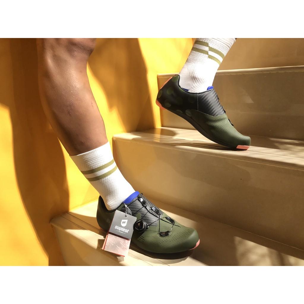 巡揚單車-MAAP x Suplest Edge+ Road Pro Shoe 聯名款卡鞋-軍綠色 火熱到貨!