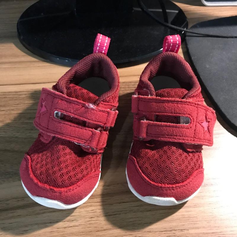 二手童鞋紅色moonSTAR