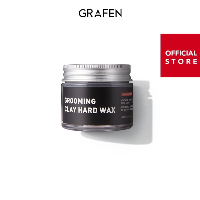 [Grafen-韓國] Grooming clay hard wax 60g 硬泥髮蠟