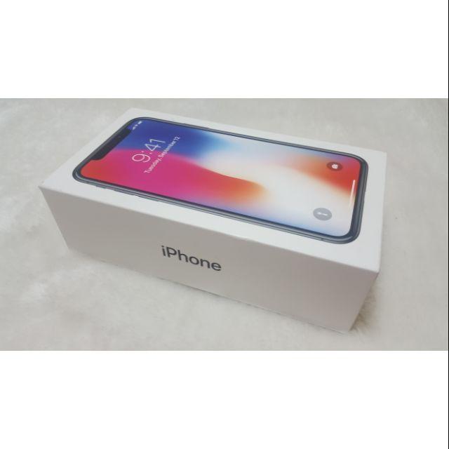 iPhone X 256GB 只賣空盒 原廠外盒 盒子