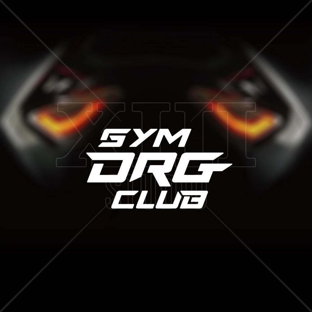 SYM DRG CLUB 反光貼紙