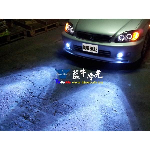 【藍牛冷光】K8 EG 小改款 改款前 H11 魚眼霧燈 可搭配HID 光圈 魔鬼眼 遠近魚眼 COB LED