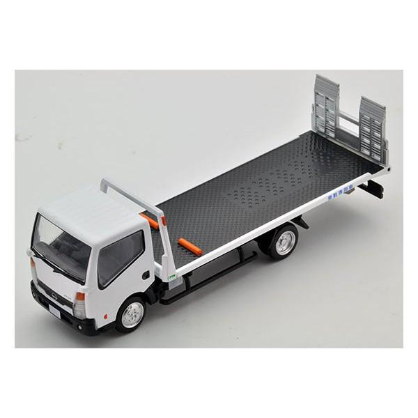 白色 TOMICA TLV-N144a 日產 Atlas 花見台 tomytec 多美 吊車 拖車 韋川