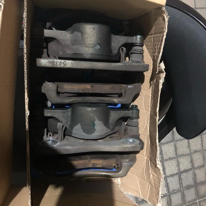 喜美八代 1.8 原廠卡鉗 碟盤 含來令片