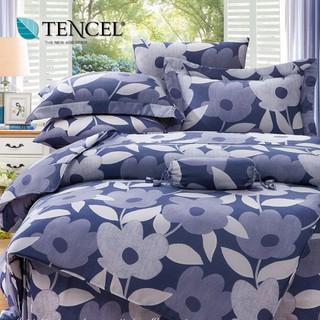 40支100%純天絲TENCEL【雙人 加大 特大組合】規格可選  兩用被床包四件組/ 七件式鋪棉床罩組 可藍非 貝淇小舖 台中市