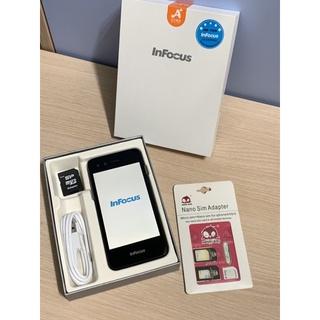 InFocus M2+ Android 智慧型手機 雙SIM卡 含傳輸線 8G記憶卡 SIM卡轉接 無充電頭 臺北市