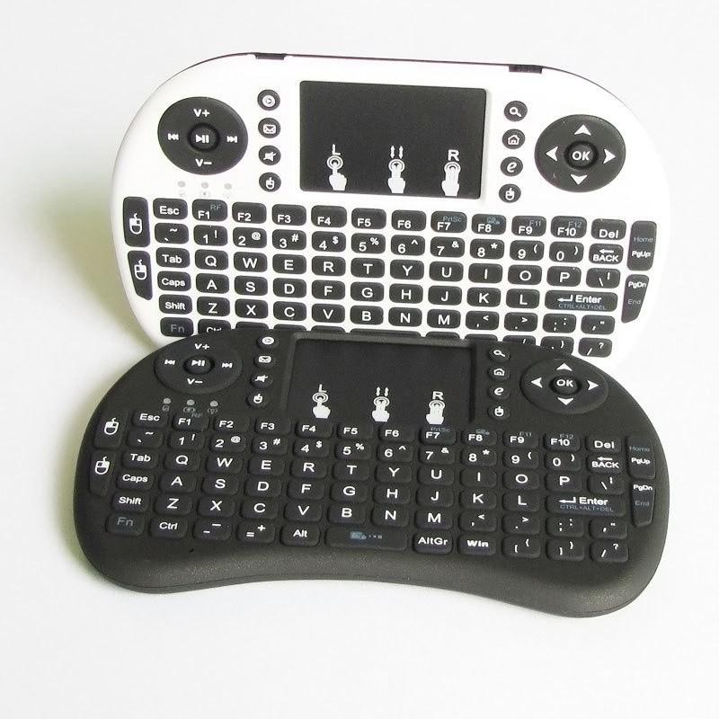 ❇﹊℡#鼠標#鍵盤  迷你無線小鍵盤MINIi8觸摸鼠標多媒體充電htpc遙控器電腦電視通用