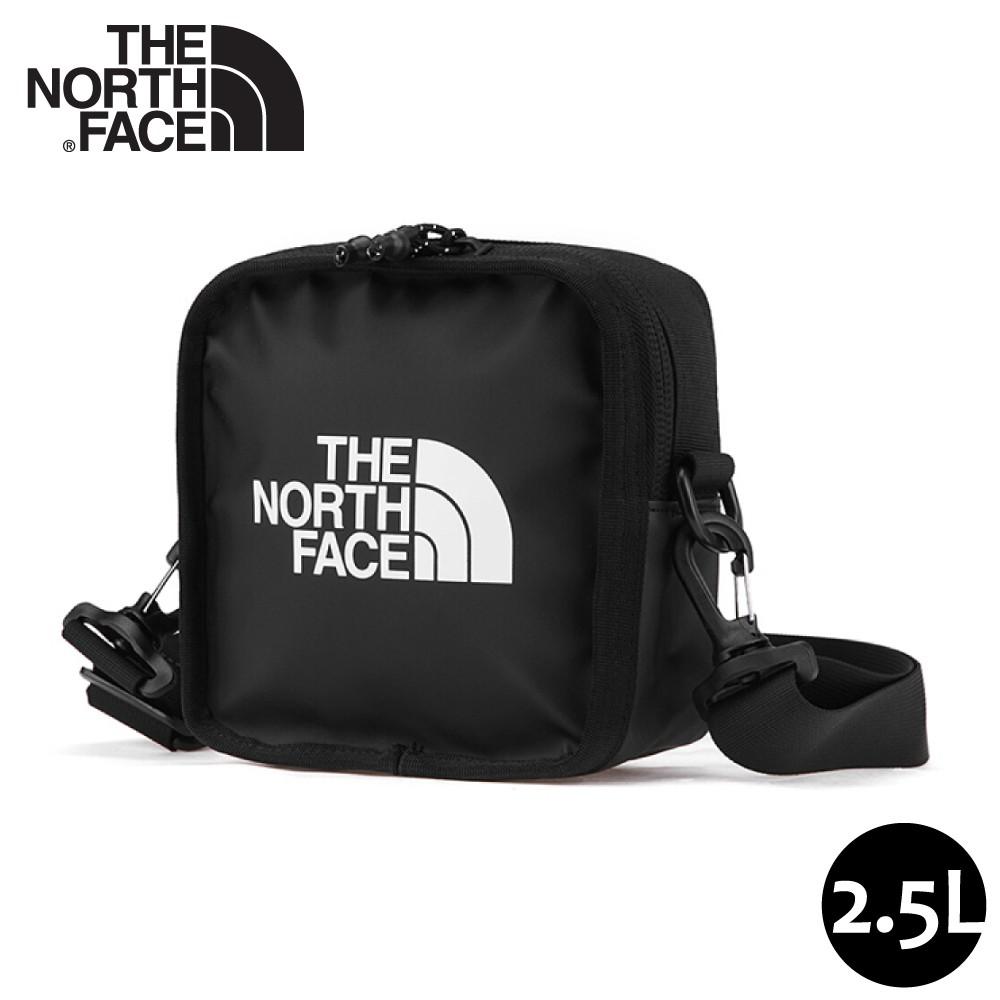 【The North Face Explore Bardu II 斜背包《黑》】3VWS/輕巧方形休閒單肩背包/悠遊山水