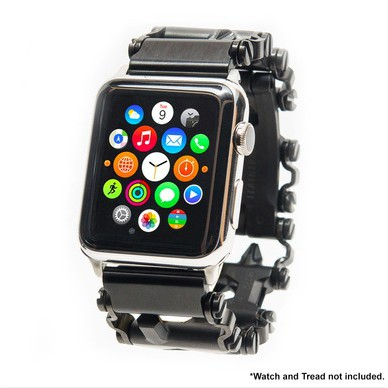 現貨Apple Watch與Leatherman Tread版及LT窄版連接專用手錶連接環一對