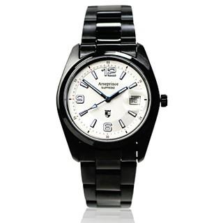 【Arseprince】天際指向電能飛行腕錶-白色 新北市