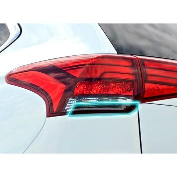 小馬汽車工坊_三菱_MISUBISHI_OUTLANDER_有色透明尾燈貼_DIY尾燈貼