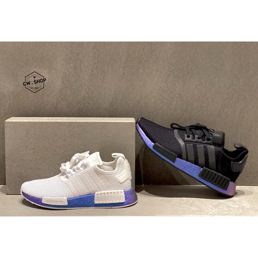 Adidas Original NMD R1 變色龍 男女款 FV5344 白 FV3645