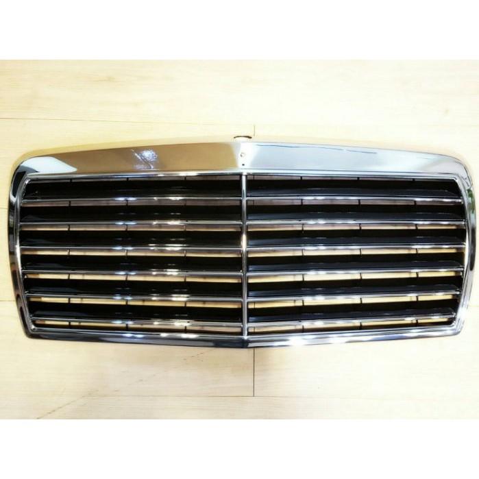 賓士 W126 260SE 380SEC 81~91 水箱罩 水柵 中網 改裝 黑色 電鍍 鍍鉻