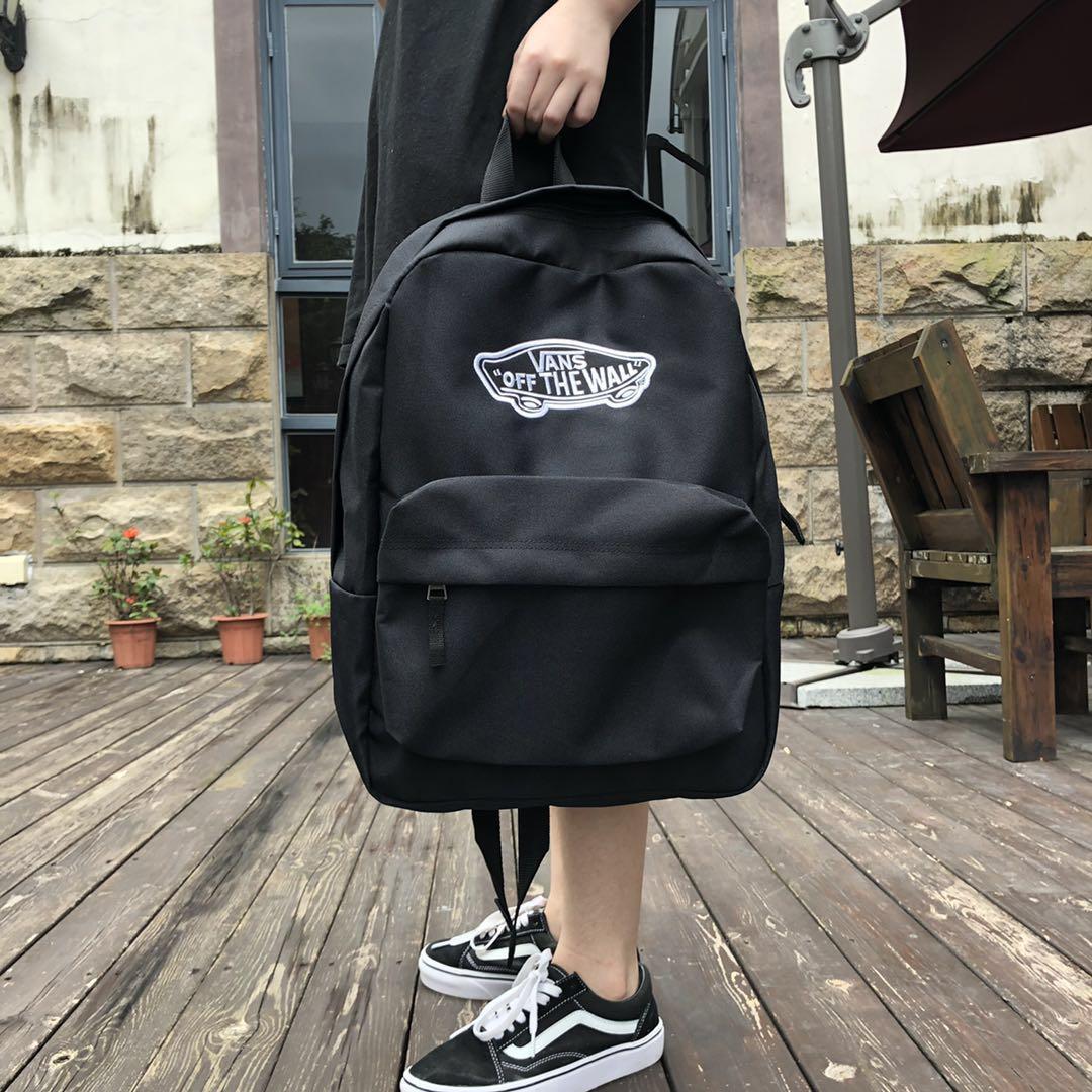 🔥最高版本 🔥萬斯 vans 雙肩包 後背包 漫威聯名 史努比 格子 萬斯書包男女 學生背包 電腦 旅行包 潮牌
