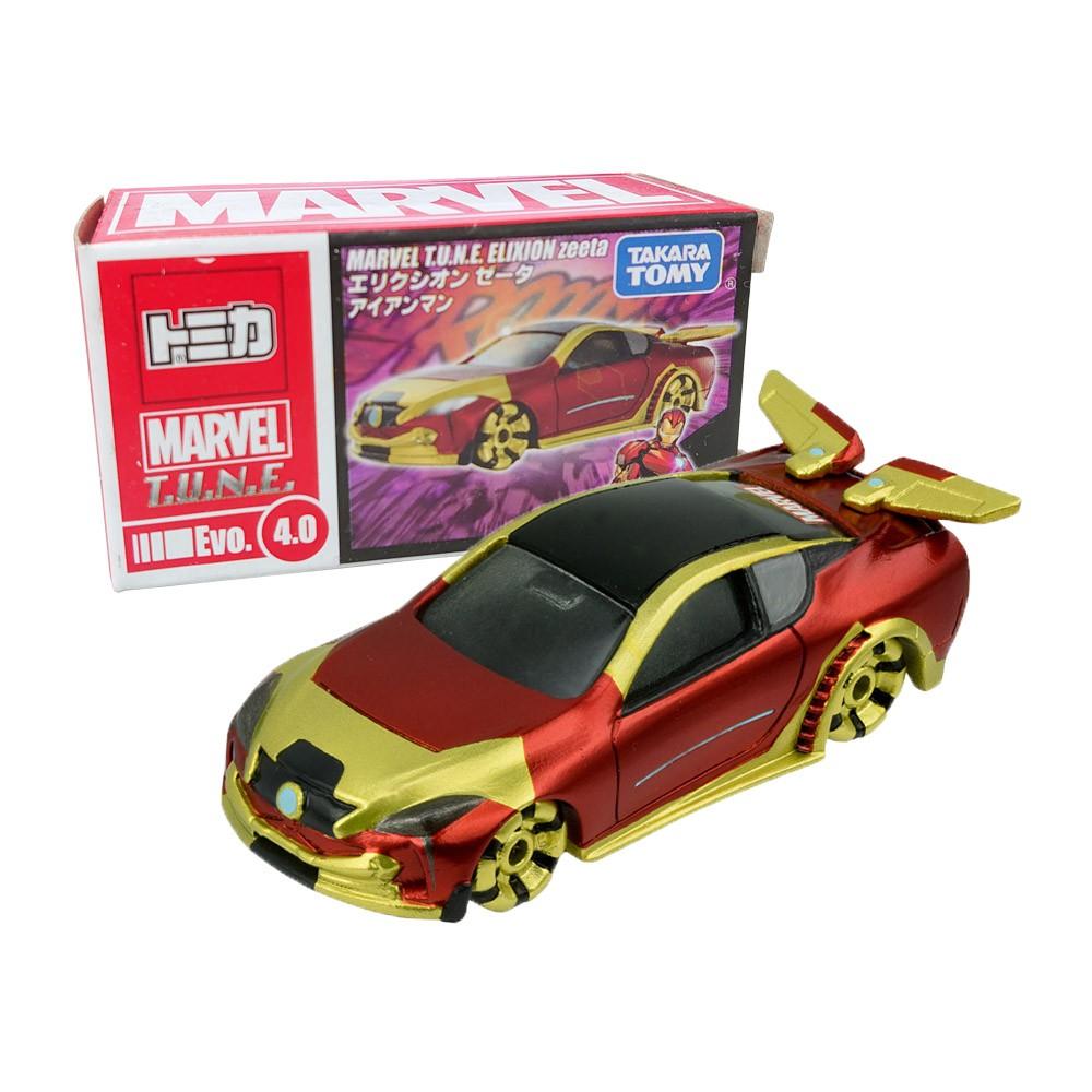 【TOMICA】多美小汽車 漫威 鋼鐵人 跑車 MARVEL T.U.N.E.Evo.4.0