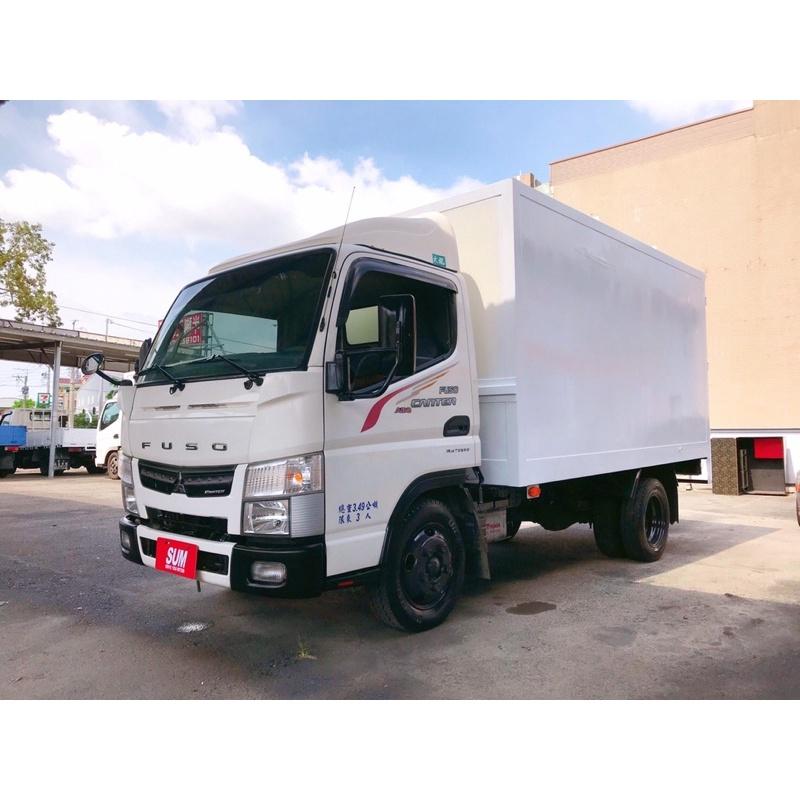 2015年 FUSO 三菱貨車5期 堅達貨車 自排貨車 11呎半廂型貨車 11.5呎貨車可升5噸