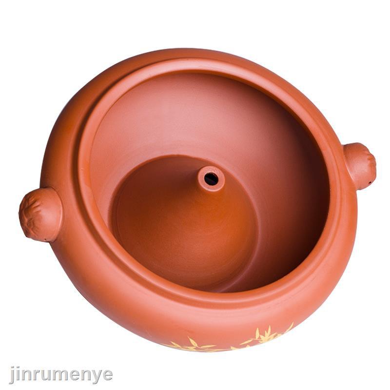 ◘▨☇紫陶汽鍋雞蒸鍋云南建紫砂陶瓷氣鍋鍋子燉湯鍋砂鍋  特價