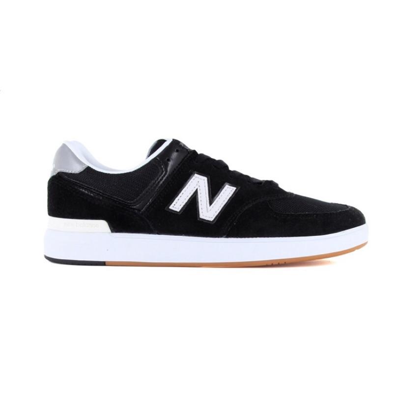 [New balance] 男款休閒運動鞋 黑色 AM574BKG 《曼哈頓運動休閒館》