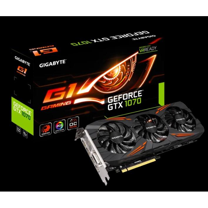 Gigabyte技嘉 GTX 1070 G1 Gaming 8G 還在保固期內