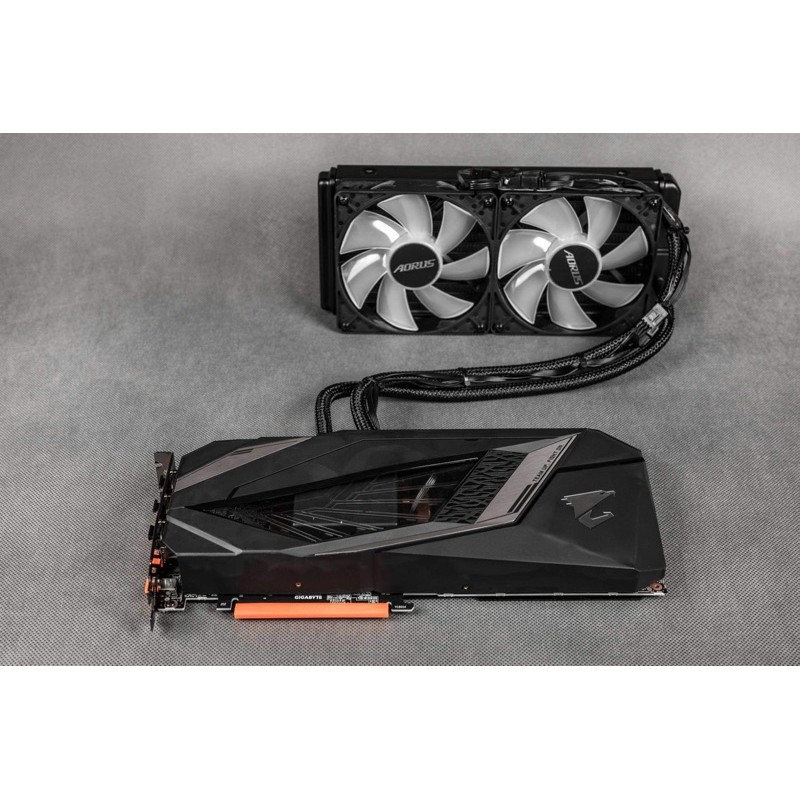 二手 原價35k 水冷 頂規 GIGABYTE AORUS RTX 2080 XTREME WATERFORCE