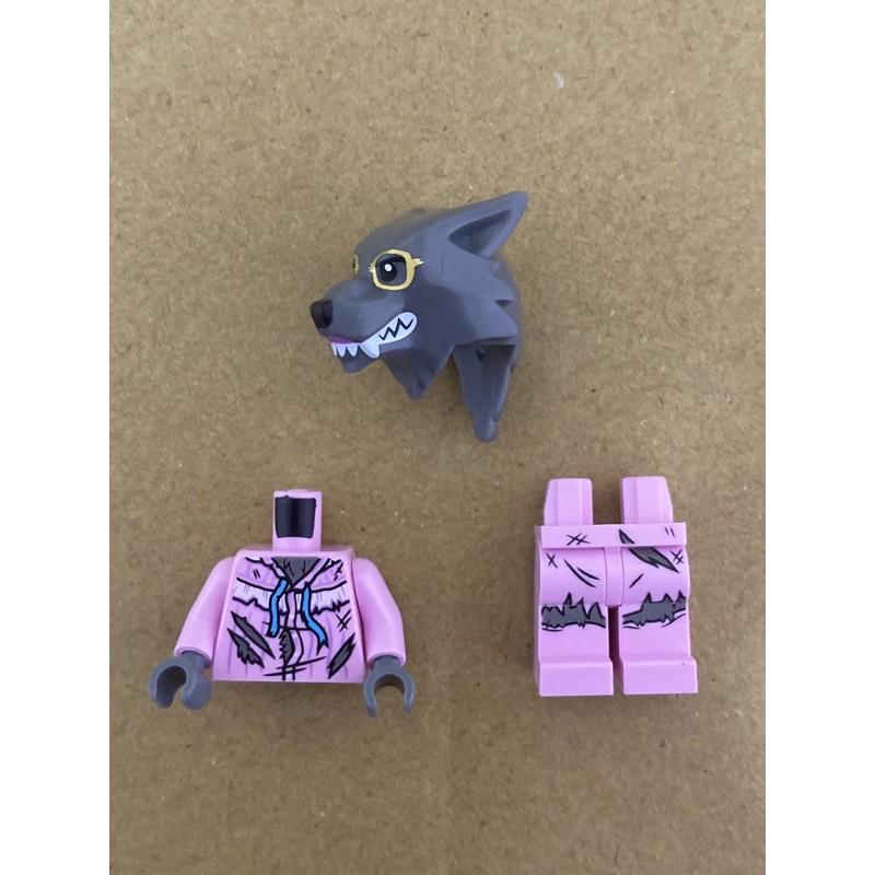 LEGO 樂高 人偶 21315 大野狼 IDEAS 立體童話書