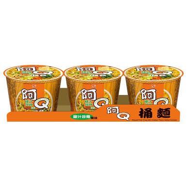 阿Q桶麵(雞汁排骨)一箱/12碗$365
