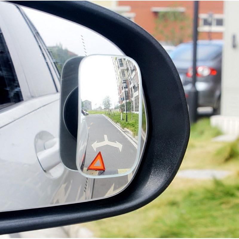 【方型】3R 大眼睛360度全視角防盲後視輔助鏡 無邊框扇形盲點鏡 倒車輔助 新手駕駛必備 DIGITTD1108
