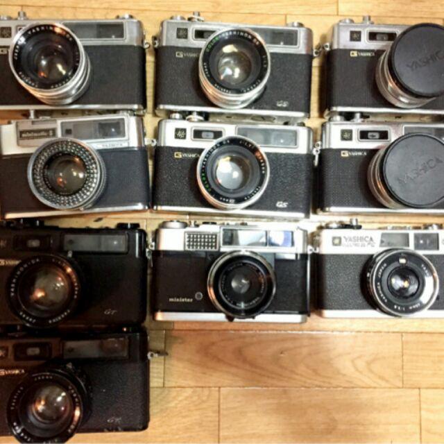 北門王 底片 單眼相機 二手 yashica Canon ae1 p a1 手把 50mm 1.4 f1.4  35~10550mm micro 鏡頭