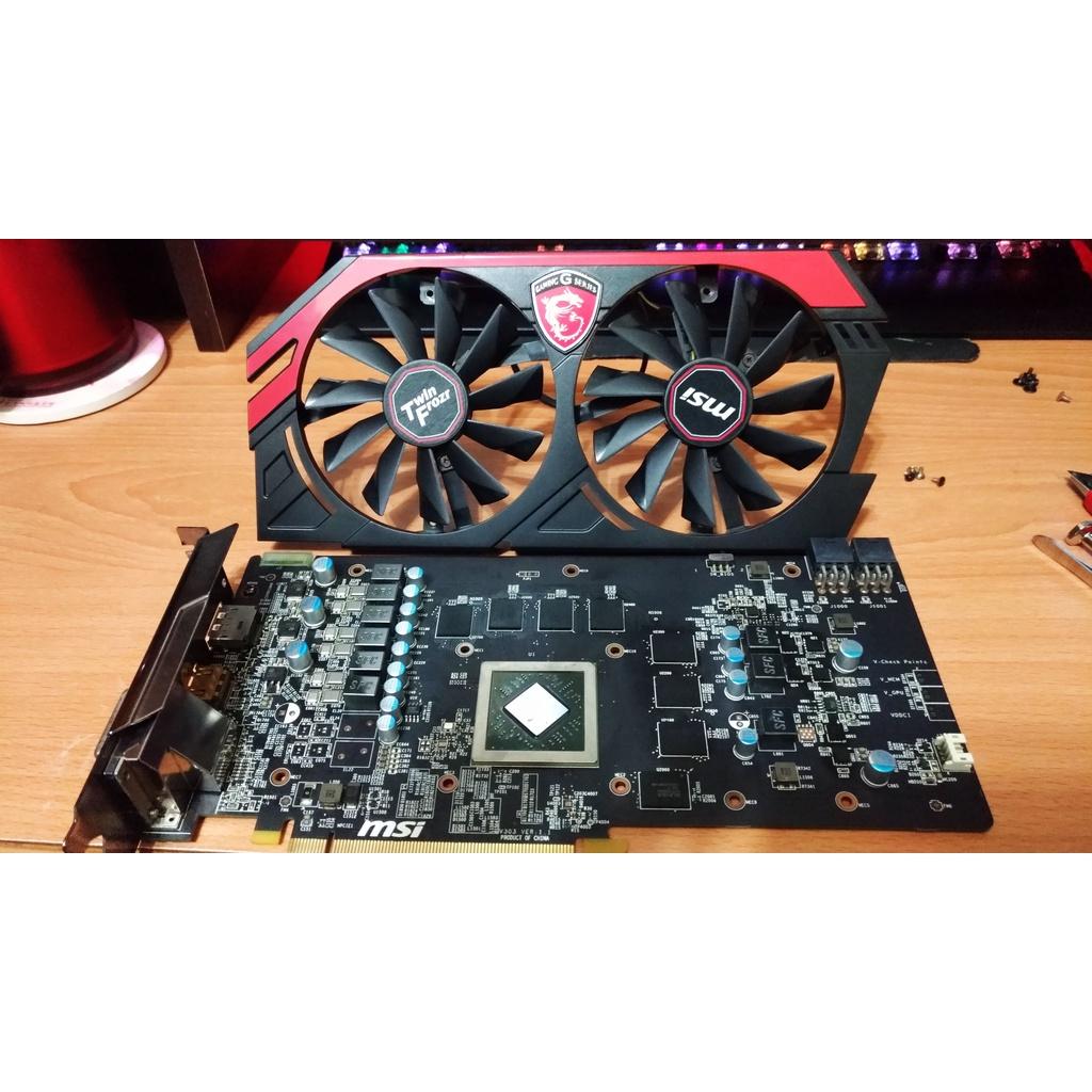 Msi AXR9 270X R9 270X Radeon R9 270X GAMING 2GD5 二手良品 二手顯示卡