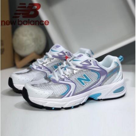 New Balance NB 530 女鞋 跑步鞋 休閑運動鞋 復古 老爹鞋 白紫色MR530CG1