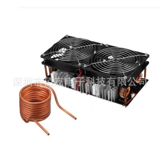 ZVS高頻感應加熱2500W大功率 高頻機 高頻淬火 中頻爐 無抽頭zvs