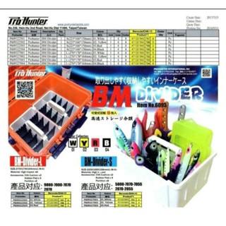 現貨,很實用(不挑色)猛哥釣具-明邦置物盒BM9000/ BM7000 BM-DIVIDER鐵板工具分類盒天亞TENYA 新北市