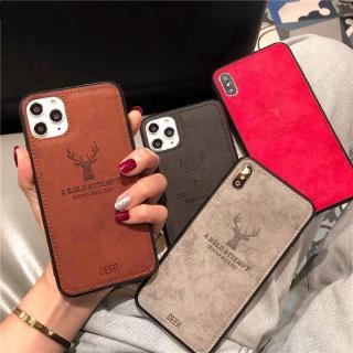 現貨 三星 A7 A8 A6 J6 2018 J7 J5 J3 Pro 手機殼 聖誕鹿布紋 全包軟殼防摔 保護套時尚卡通