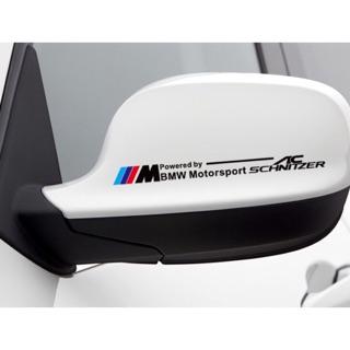 BMW AC 後視鏡車貼 透明噴繪後視鏡貼紙 高雄市