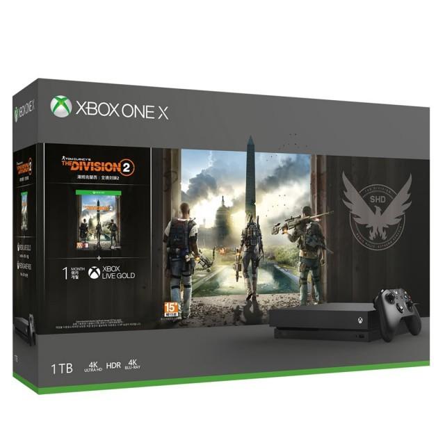 【二手】Xbox One X 1TB 主機(送遊戲)