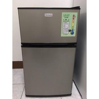 ✨限自取,2021超便宜賣,誠可議✨FRIGIDAIRE美國富及第雙門小冰箱,小尺寸90L大容量,有冷凍櫃喲💯