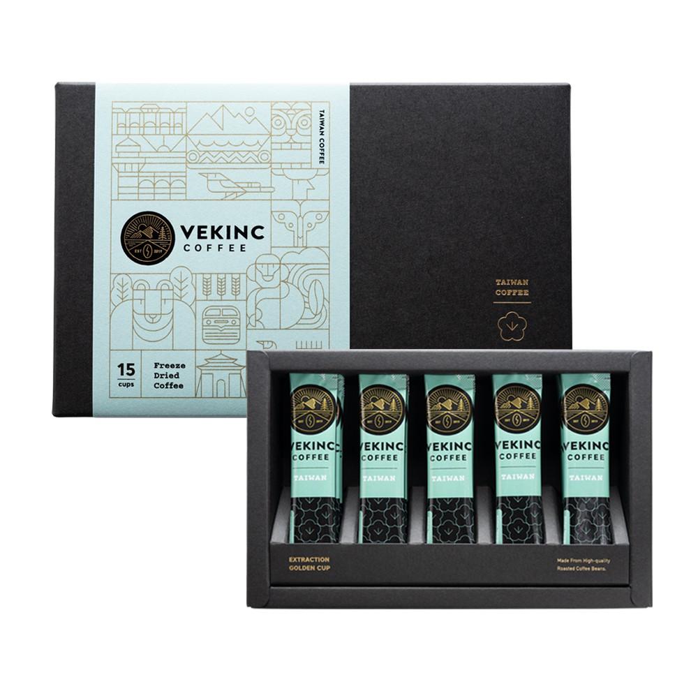 【VEKINC COFFEE】臺灣 阿里山達邦部落帝比卡 水洗 微晶單品咖啡 (15入尊爵裝)