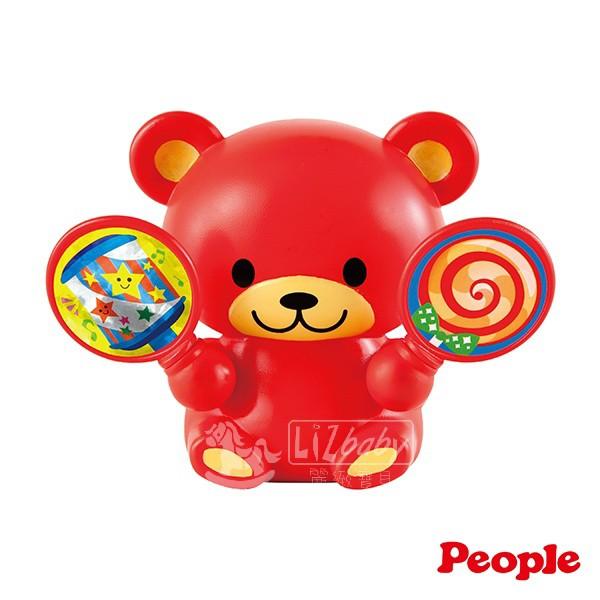 日本People-歡樂五感音樂小熊(0個月-)