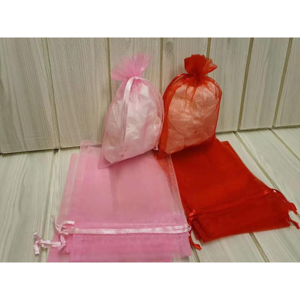 【宇宙森林】12x17雪紗袋 歐根紗 紗袋 婚禮小物 交換禮物 小收納袋
