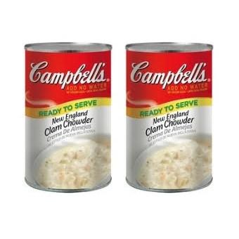 (預購) 好市多 美國 CAMPBELL'S 金寶 新英倫蛤蠣濃湯 蛤蜊濃湯1.41KG
