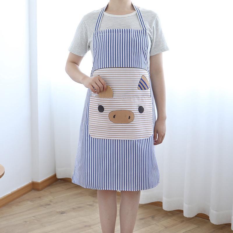 家居 廚房圍裙 防水防油污韓版卡通圍裙 時尚萌趣義烏圍裙批發滿99元發貨批發優惠
