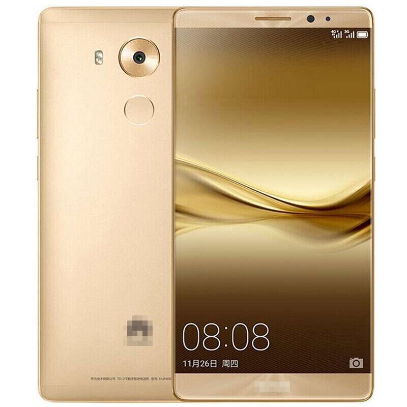 【二手9成新】華為 Mate8 安卓智能手機 金色 4+64G 全網通4G